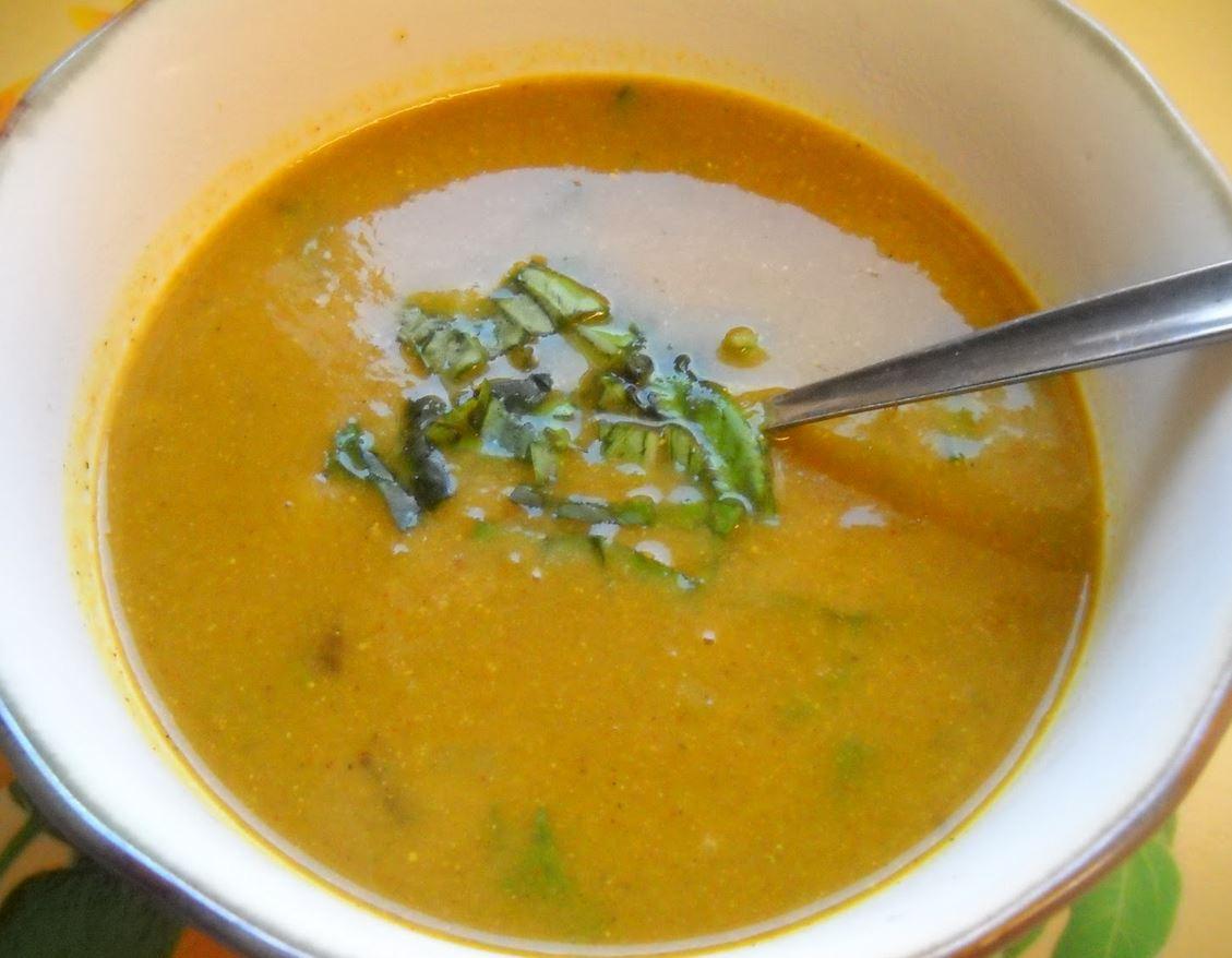 Pompoen Kerrie soep