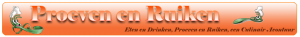 Proeven en Ruiken Logo