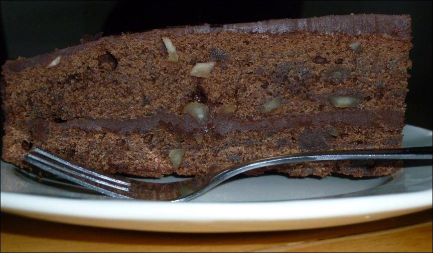 macadamia chocolade taart