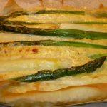 aspergetaart uit de oven